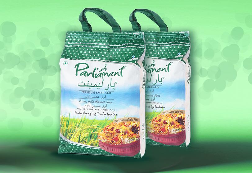 Parliament Emerald Creamy Sella Rice
